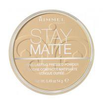 Rimmel Stay Matte Long Lasting Pressed Powder 006