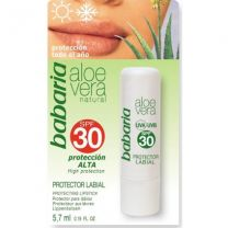 Babaria Aloe Vera Protector Labial 5,7ml