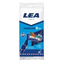 Lea Premium 3 Hojas Cuchillas Desechables 4U