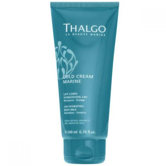 Thalgo Cold Cream Marine 24 Hydrating Body Milk Dry,sensitive Skin 200ml