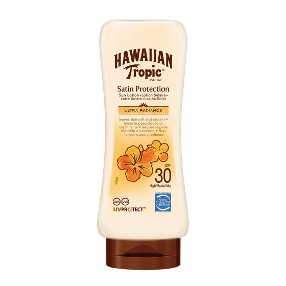 Hawaiian Tropic Satin Protection Ultra Radiance Spf30 Cream 180ml