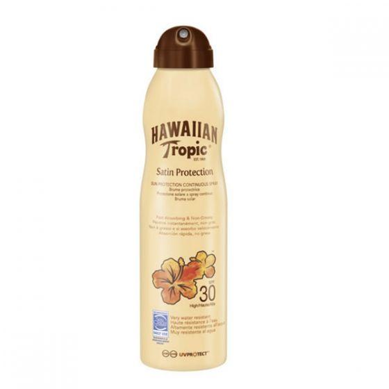 Hawaiian Tropic Satin Protection Ultra Radiance Spf30 Sun Lotion 220ml